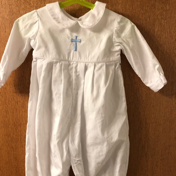 f6512e460 Other | Christening Baptism Romper Outfit | Poshmark